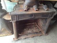 Very Nice Cast Iron fireplace