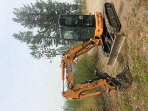 2013 Case cx36b mini excavator only 405 hours