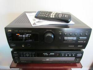 Stereo Receiver CD Player System Speakers