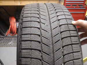 SET OF FOUR NEW MICHELIN SNOW - ICE TIRES FOR SALE