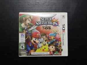 Super Smash Bros , for 3DS. Complete in box with manual