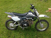 looking to trade for four wheeler or sell $1500.00