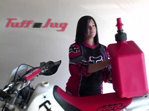 NEW Motorcycle Race Track Fuel 20Ltr.Tuff Jug w Ripper Cap Petro