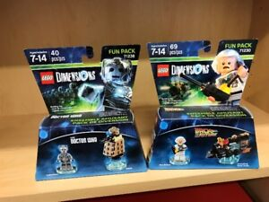 Fun pack Lego dimensions - Dr Who et Back of the future