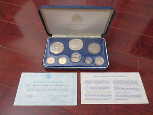First National Coinage of Barbados - Proof Set - 1973