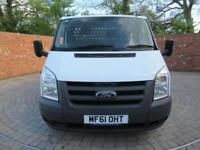FORD TRANSIT 350 ONE STOP DROPSIDE LWB 12 FT 100 BHP 3 SEATS