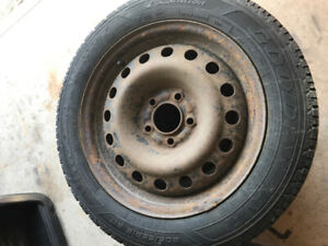 """16"""" Winter Tires and Steel Rim"""