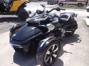 Brand New 2015 Can Am Spyder F3-S Chrome Edition