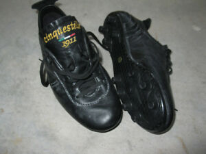 Soccer cleats (Italian all leather & hand made). New!