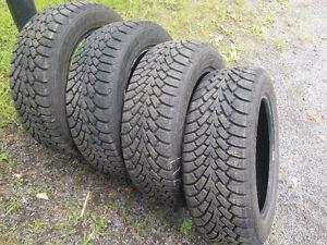 Winter tires - Pneus d'hiver 205/55R16