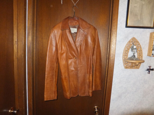 100% Leather Jacket - Made in Canada