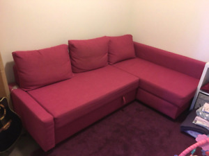 brand new ikea friheten sofa bed sectional in mint condition.