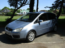 Ford Focus C-MAX 2.0TDCi Ghia**DIESEL MPV**ABSOLUTELY IMMACULATE**RARE SPEC!**