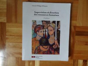 Supervision et Direction des Ressources Humaines 3e édition