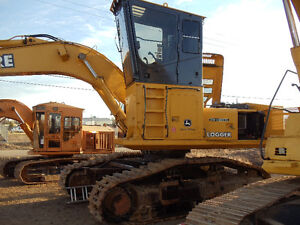 Log loader John Deere 2554
