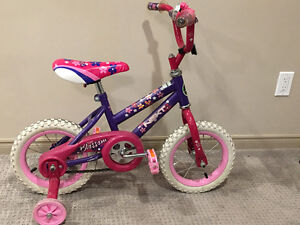 Girls Bike Incl Training Wheels - Great Condition