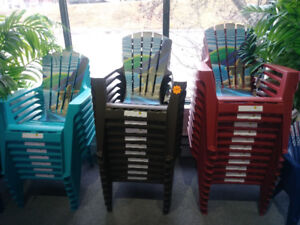 Adirondack chairs for kids and adults!