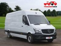 2015 MERCEDES-BENZ SPRINTER 313 CDI EURO 5 Long Wheel Base High Roof Panel Van D