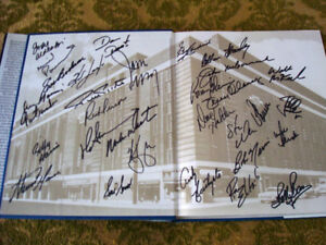 Toronto Maple Leafs Autographed Memories and Dreams Book