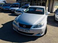Lexus IS 220d 2.2TD ( sr ) ( Multimedia ) SE Cheap To Run Good Mpg Fsh