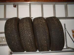 4 Sailun WST1 Ice Blazer Snow Tires