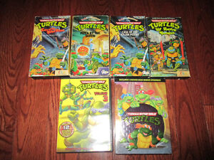 TMNT teenage mutant turtles TMNT VHS and dvds Kitchener / Waterloo Kitchener Area image 1