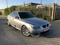 2007 07 BMW 520d M Sport 2.0 TURBO DIESEL 163 BHP 6 SPEED FSH NEW FLYWHEEL+CLUTC