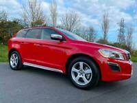 Volvo XC60 2.0 DIESEL *** 5 CYLINDER *** F.S.H ** STUNNING IN RED ***