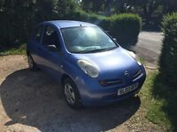 Nissan micra 1300cc 10 month mot good runner used daily