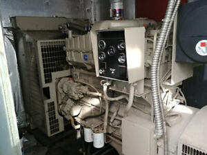 300KW Immaculate Cummins Enclosed Generator
