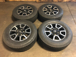 TOYOTA TUNDRA MAGS WITH WINTER TIRES MICHELIN 275/65R18 18INCH
