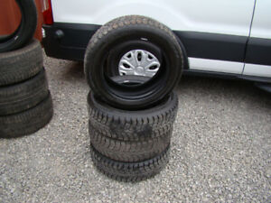 P185/60R15 Winterclaw Extreme Grip 4 Used Snow Tires