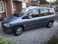 Vauxhall Zafira 1.8 Auto 7 seat MPV