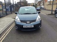 Nissan N-tech+Auto 1.6 2012 long Mot top condition One owner from new 14,000 milage