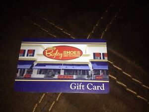Bigleys gift card Kawartha Lakes Peterborough Area image 1