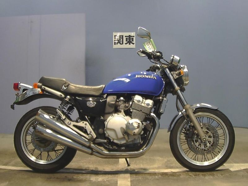 1997 honda cb 400 four nc36 blue fresh from japan only. Black Bedroom Furniture Sets. Home Design Ideas