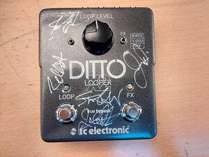 TC Electronic -  Ditto X2 Looper - Signed by ANTHRAX
