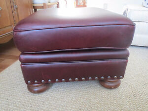 Leather Coffee Table or Foot Stool
