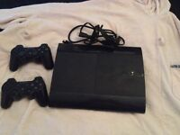 Slim line PS3 with 2 controls ��60