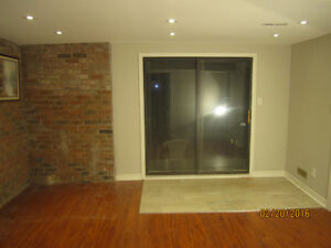 Winston Churchill and QEW - 1 bedroom basment ap. May.01.17