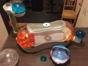 Cage pour hamster Habitrail