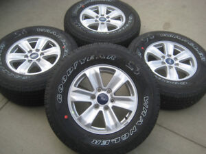 NEW Ford F150 Wheels w/ NEW Goodyear Fortitude P265/70R17 Tires