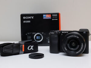 Sony a6300 with 16-50mm lens
