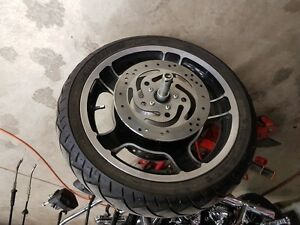 """18"""" Front Streetglide rim and tire"""