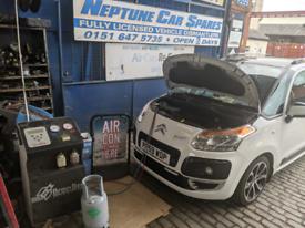 Air conditioning regas service Wirral Birkenhead Wallasey West Kirby
