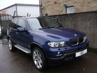 "06 06 BMW X5 3.0D LE MANS BLUE PERFORMANCE SPORT 5DR 20"" ALLOYS BODYKIT LEATHER"