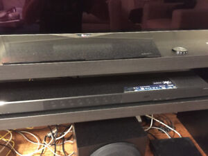 Yamaha ysp1600 soundbar and yet-sw o12 subwoofer