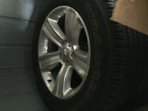 Brand new Dodge Ram sport factory 20in rims and tires