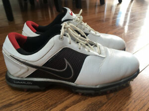 Nike Golf Shoes Lunarlon 7.5