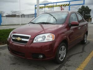 2011 Chevrolet Aveo Sedan,  ONLY 9.700 km!! No Mistake!